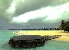 Free Maldives Beach Royalty Free Stock Photos - 17097358