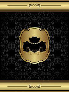 Free Vintage Floral Frame Background Royalty Free Stock Image - 17097676