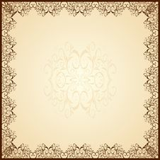 Free Guipure Frame Royalty Free Stock Photos - 17097798