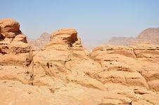 Free Wadi Rum Desert Stock Image - 17098481