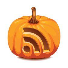Free RSS Pumpkin Royalty Free Stock Photo - 17098515
