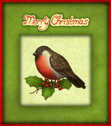 Free Christmas Greeting Card Royalty Free Stock Images - 17098619