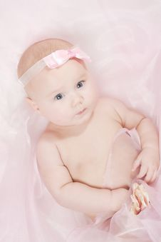 Free Portrait Of A Little Baby Stock Image - 17098801