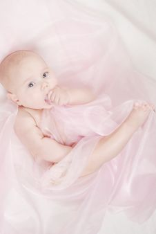 Free Portrait Of A Little Baby Stock Photos - 17098843