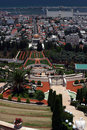 Free Bahai Temple & Gardens Royalty Free Stock Photography - 1716077