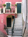 Free Lerici Houses  Pink Stock Photography - 1718252