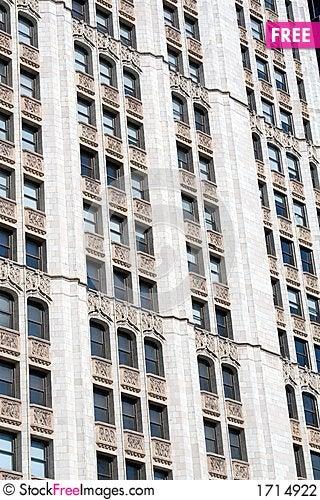 Detailed skyscraper Stock Photo