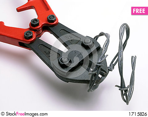 Wire cutter - 2 Stock Photo