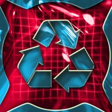 Free Recycling Icon Sign Royalty Free Stock Photography - 1710427