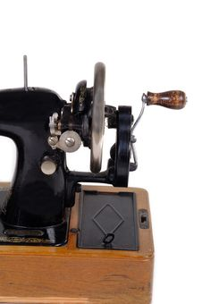 Free Old Sewing Machine Royalty Free Stock Photos - 1710428
