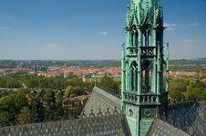 Prague Vista Royalty Free Stock Photos