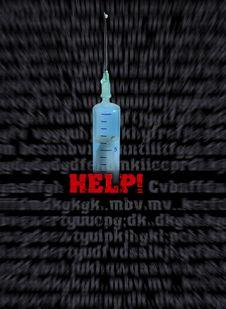 Help Aids Stock Image