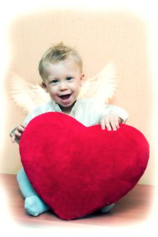 Free Angel Boy Stock Photography - 1712632