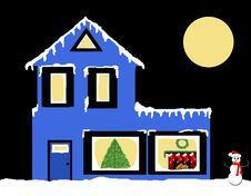 Holiday Home Stock Image
