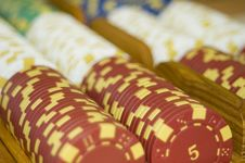 Free Poker Chips 1 Stock Photography - 1714102