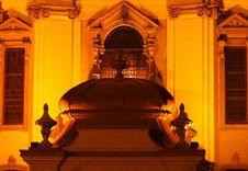 Free Church Detail By Night Stock Photos - 1714783