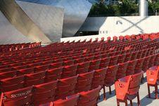 Free Empty Stadium Seats Royalty Free Stock Photo - 1714795