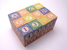 Free Toy Blocks - 2 Royalty Free Stock Photos - 1715458