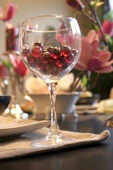 Free Wine Glass Abstract Royalty Free Stock Images - 1716349