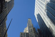 Free Tall Buildings In New York Royalty Free Stock Image - 1717116