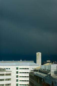 Free Stormy Sky Royalty Free Stock Photo - 1717215