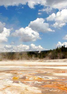 Free Yellowstone Geyser Field Stock Photos - 1717553