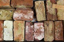Free Layer Of Bricks Royalty Free Stock Photography - 1717787
