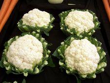 Free Cauliflowers Royalty Free Stock Images - 1719189