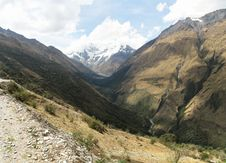 Free Inca Trail To Salcantay Stock Images - 1719314