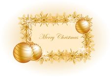 Vector Christmas Ball Stock Photo