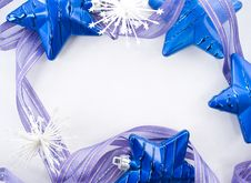 Free Collection Of Blue Decorations Stock Photography - 17101282
