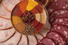 Free Sliced Sausage Royalty Free Stock Image - 17101566