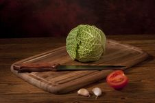 Free Green Cabbage Stock Photography - 17101602