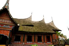 Free Culture House Sumatra Royalty Free Stock Image - 17101666