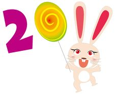 2011 Rabbit Royalty Free Stock Photo