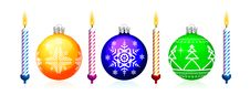 Free Christmas Tree Sphere Royalty Free Stock Image - 17103266