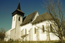 Free The Protestant Church Of Sintereag, Romania Royalty Free Stock Photos - 17103458