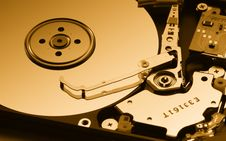 Free Opened Hard Disk Drive Stock Photos - 17103883
