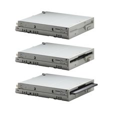 Free Floppy Drive In Three Actions Stock Photography - 17103892