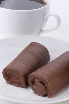 Free Rolled Cake Stock Image - 17104921