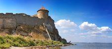 Free Medieval Tower Of Citadel Belgorod Cetatea Alba Royalty Free Stock Photos - 17105528