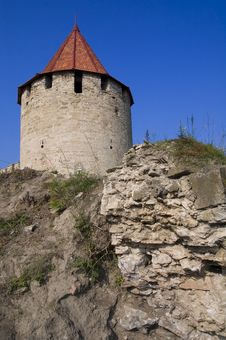 Free Medieval Tower Of Citadel Bender Royalty Free Stock Photos - 17105608