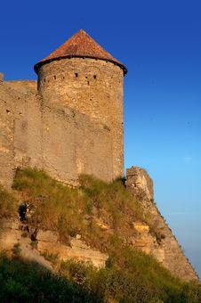 Free Medieval Tower Of Citadel Belgorod Cetatea Alba Stock Images - 17105634