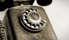 Free Old Phone Royalty Free Stock Photos - 17106058