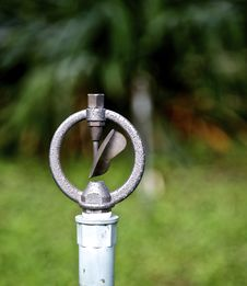 Free Water Sprinkler Royalty Free Stock Photo - 17106115
