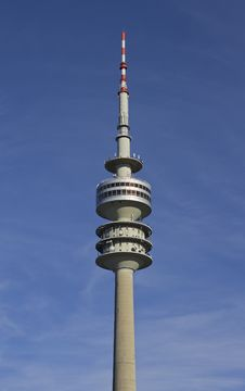 Free The Television Tower Of Munich In Bavaria Stock Image - 17106431