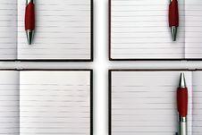 Free Blank NoteBook Open Stock Photos - 17106573