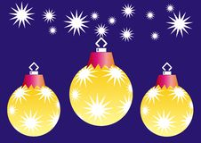 Xmas  Light Ball Royalty Free Stock Images