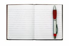 Free Blank NoteBook Open Stock Photo - 17106890