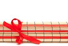 Free Bamboo Mat Royalty Free Stock Image - 17106916